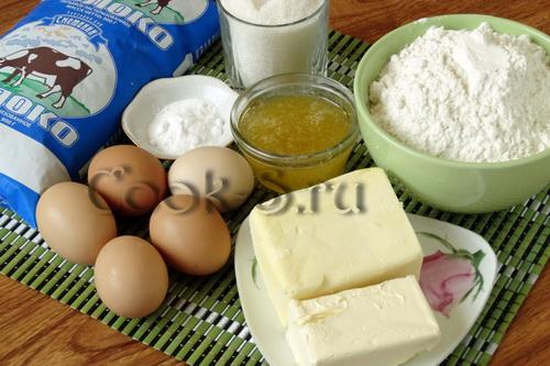 торт рыжик - ингредиенты