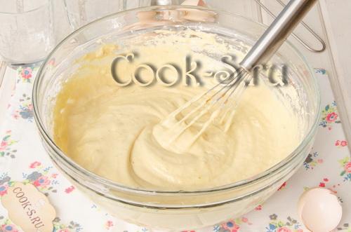 бисквитное кофейное тесто