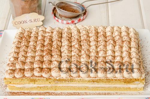 торт тирамису рецепт с фото пошагово в домашних условиях