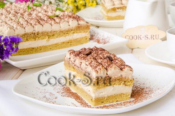 торт тирамису в домашних условиях рецепт с фото