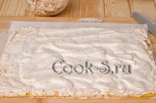 корж для торта воздушный сникерс