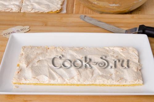 сборка торта воздушный сникерс