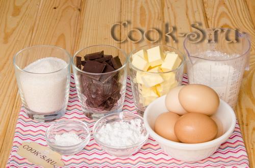 торт захер - ингредиенты для теста