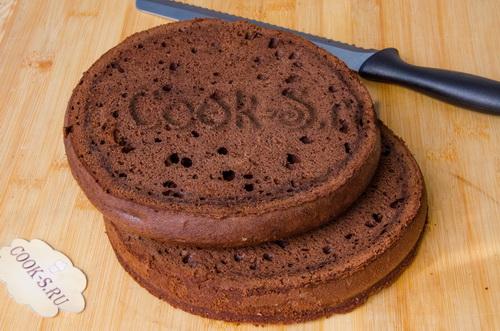 шоколадные коржи для торта захер