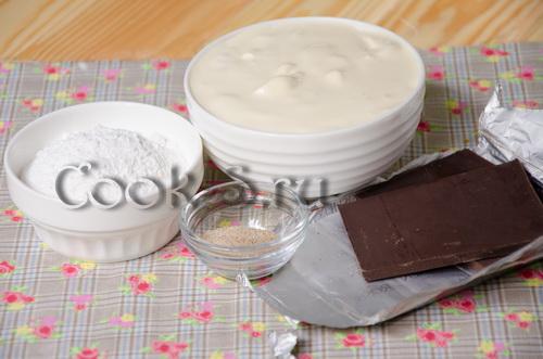 торт зимняя вишня - ингредиенты для крема