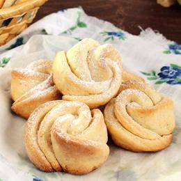 рецепт печенья из творога розочки