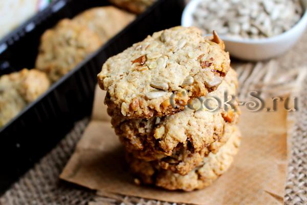 рецепт злакового печенья