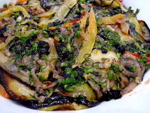 Картофельный салат по грузински фото