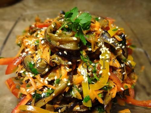 рецепт баклажан закуска корейская