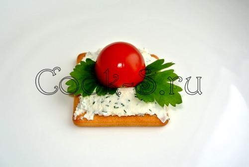 бутерброды божья коровка