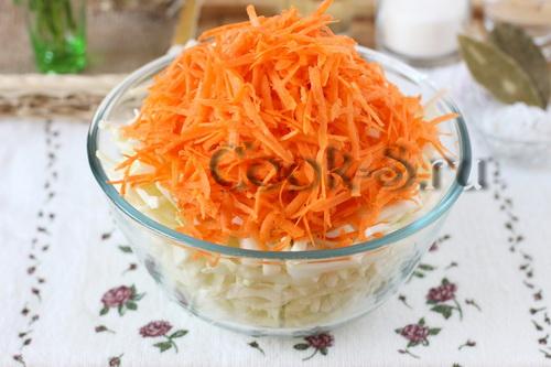 Быстрая маринованная капуста с уксусом рецепт пошагово
