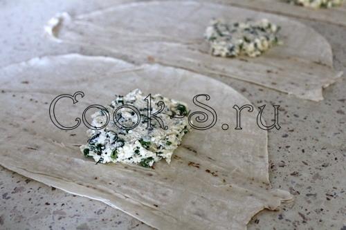 конвертики из лаваша