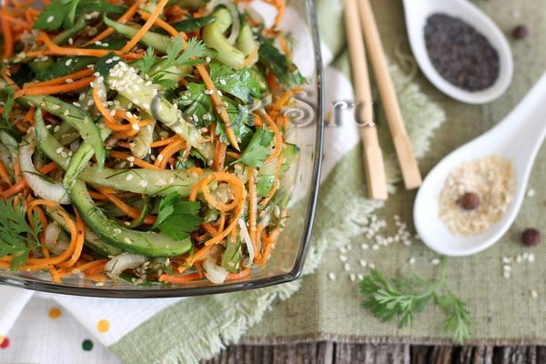 огурцы по-корейски рецепт с фото