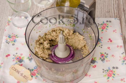 грецкие орехи с чесноком
