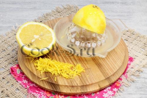 Лимонный чизкейк с лимонным курдом, пошаговый рецепт с фото