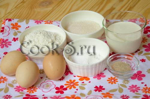 """Пирожное """"Буше"""" – кулинарный рецепт"""