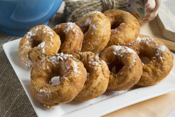 Овсяные мини-пончики – кулинарный рецепт