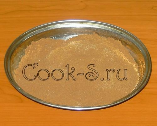"""Десерт """"Сладкая колбаса"""" – кулинарный рецепт"""