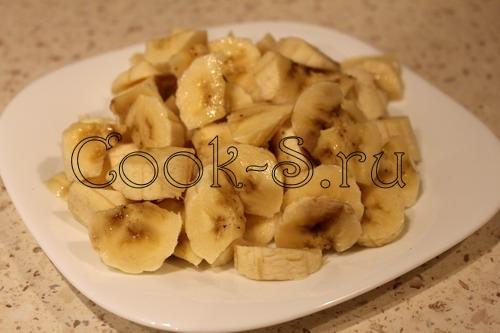 Творожно-банановая запеканка – кулинарный рецепт