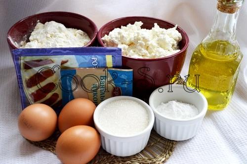 """Пышные творожные блины """"Для Маши"""" – кулинарный рецепт"""