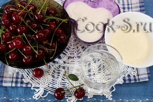 Шоколадный мусс с вишневым сиропом – кулинарный рецепт