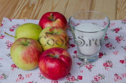 яблочный мармелад в домашних условиях - ингредиенты