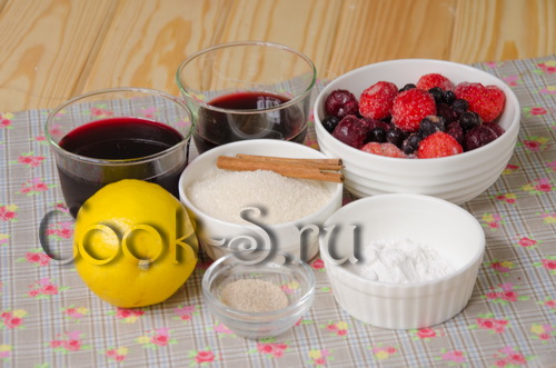 Малиновый крамбл, пошаговый рецепт с фото