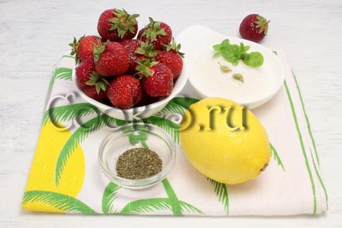 Узелки с клубникой – кулинарный рецепт