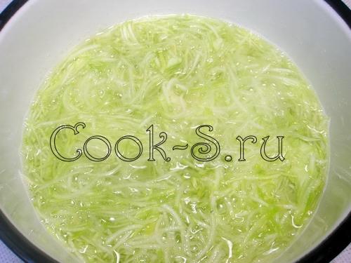 Рис со свиным языком и кабачковой икрой – кулинарный рецепт