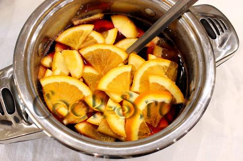 клубничное варенье с апельсином