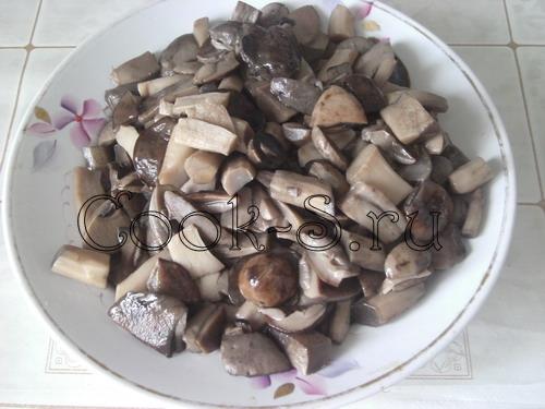 Маринованные грибы с имбирем – кулинарный рецепт