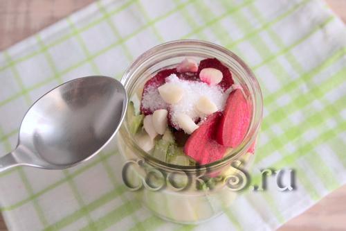 Свекла с жареным луком на зиму – кулинарный рецепт