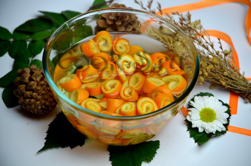 Варенье из апельсиновых корочек