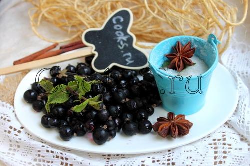 Торт с муссом из черной смородины – кулинарный рецепт