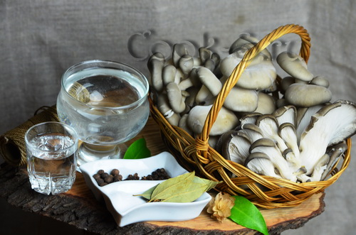 маринованные вешенки - ингредиенты
