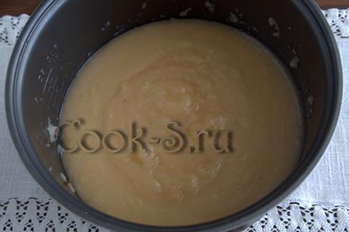 Повидло из антоновки в мультиварке – кулинарный рецепт