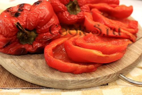 Соус из запеченного перца – кулинарный рецепт