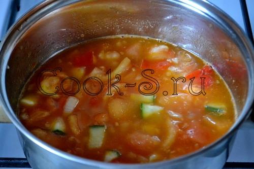 Прекрасный азиатский гаспачо с песто – кулинарный рецепт