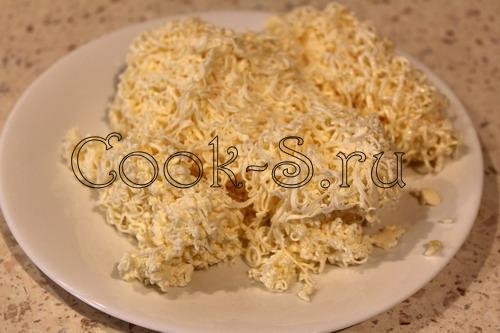 тертый плавленый сыр