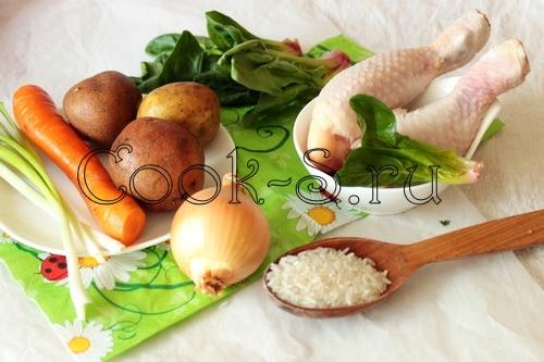 Рис со шпинатом – кулинарный рецепт