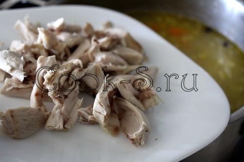 Рассольник с курицей, пошаговый рецепт с фото