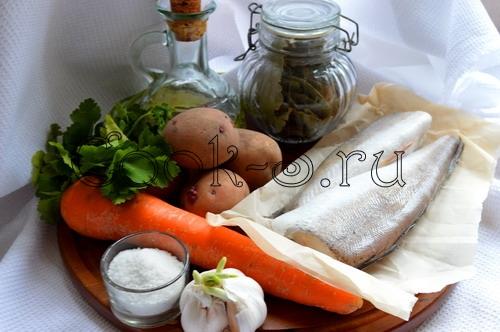 Рыбный суп скукурузой, пошаговый рецепт с фото