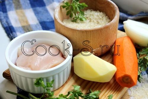 Овощной суп с индейкой – кулинарный рецепт