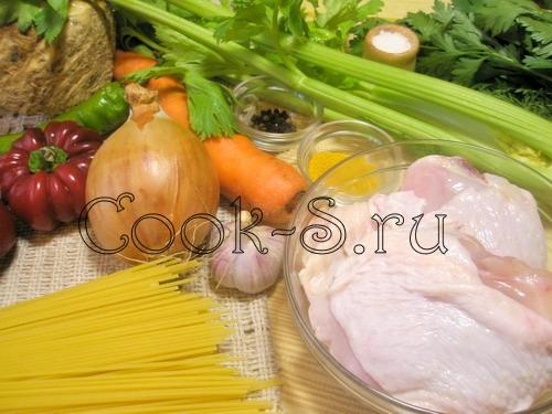 Кролик с луком, сельдереем и морковью – кулинарный рецепт