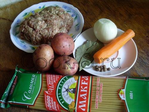 Суп с вермишелью и фрикадельками – кулинарный рецепт