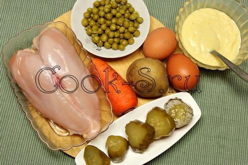 Дружбургер с курицей, пошаговый рецепт с фото