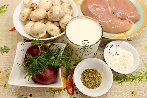 """Запеченная курица с картофелем а-ля """"Скоблянка"""" – кулинарный рецепт"""