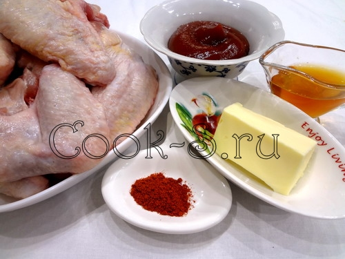 Копченые куриные крылышки – кулинарный рецепт