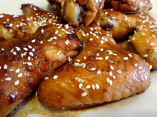 Крылья почти по-китайски – кулинарный рецепт