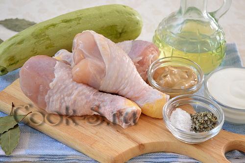Куриные голени в сметане – кулинарный рецепт